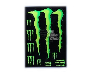Наклейки Monster Energy