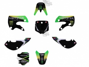 Наклейки KLX Monster Energy