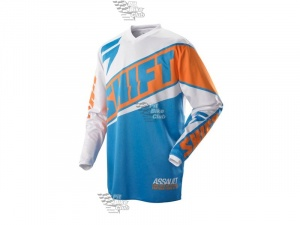 Мотоджерси Shift Assault Race Jersey Orange/Blue L (07244-592-L)