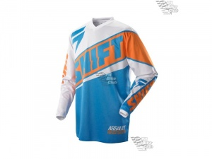 Мотоджерси Shift Assault Race Jersey Orange/Blue M (07244-592-M)