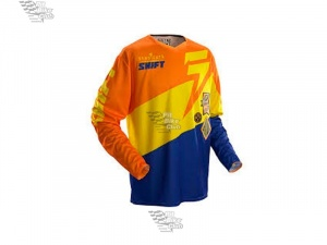 Мотоджерси Shift Faction Slate Jersey Orange/Blue L (07240-592-L)