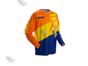 Мотоджерси Shift Faction Slate Jersey Orange/Blue M (07240-592-M)