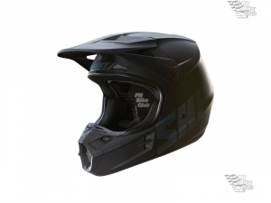 Мотошлем Shift V1 Assault Race Helmet Matte Black M (16109-255-M)