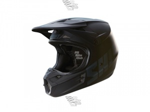 Мотошлем Shift V1 Assault Race Helmet Matte Black L (16109-255-L)
