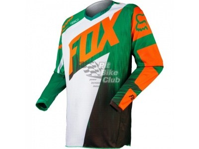 Мотоджерси Fox 180 Vandal Jersey Green/Orange L (10784-147-L)