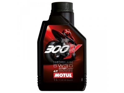 Масло Motul 4T 300 V 4T FL Road Racing SAE  5W30  (1 л)
