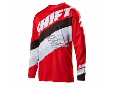 Мотоджерси Shift White Tarmac Jersey Red S (17213-003-S)