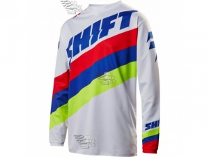 Мотоджерси Shift White Tarmac Jersey White L (17213-008-L)