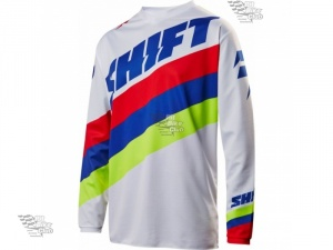Мотоджерси Shift White Tarmac Jersey White S (17213-008-S)
