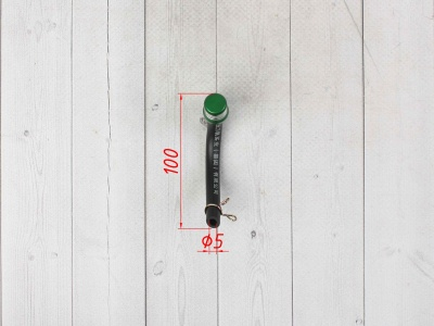 Бензоклапан зеленый CNC с замком фото 3