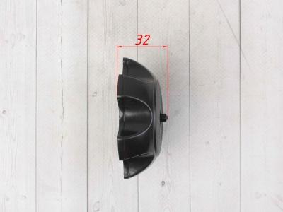 Крышка бензобака пластиковая черная фото 5