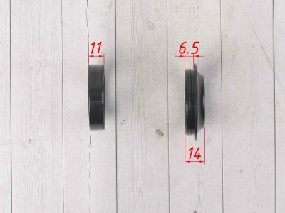 Сальник и пыльник пер. амортизатора 37x50x11 / 37x50.3/51x13  YCF SPIII, T2, TTR250   фото 7