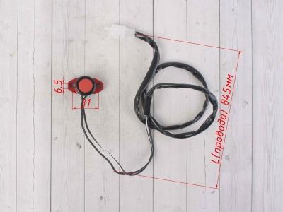 Кнопка CNC стоп-двигатель красная фото 3