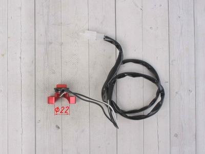 Кнопка CNC стоп-двигатель красная фото 5