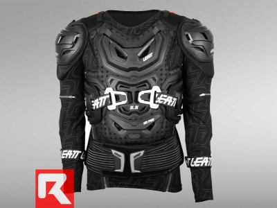 Защита панцирь Leatt Body Protector 5.5 Black S/M (160-172) (5015400100) фото 1