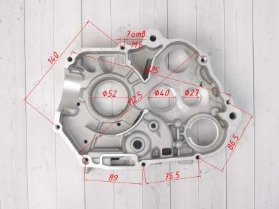 Картер двигателя правый KAYO двиг. YX140 см3 фото 5