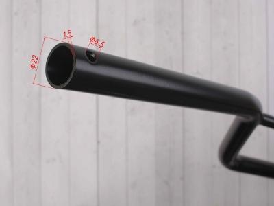 Руль KAYO стальной 22мм фото 7