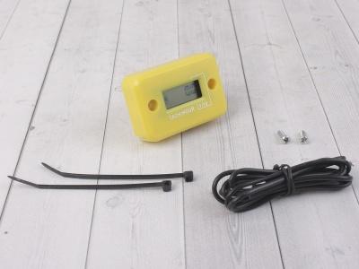 Счетчик моточасов с тахометром желтый фото 1