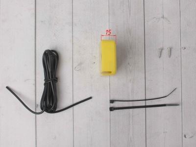 Счетчик моточасов с тахометром желтый фото 5