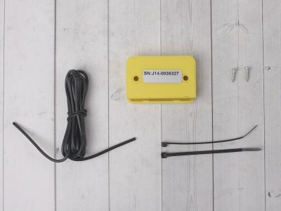 Счетчик моточасов с тахометром желтый фото 7