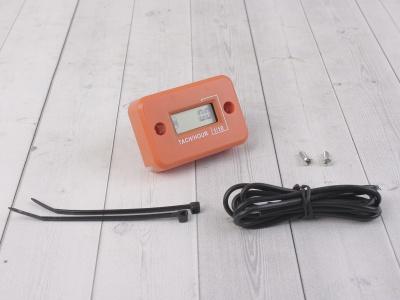 Счетчик моточасов с тахометром оранжевый фото 1