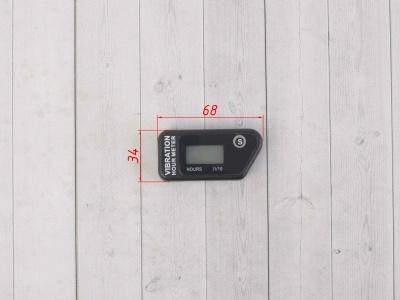 Счетчик моточасов беспроводной SM-PARTS SMP-016B черный фото 3