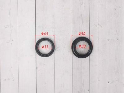 Сальник вилки KAYO SM-PARTS 33 45 10,5 c пыльником фото 3