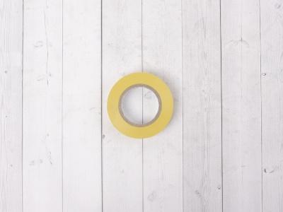 Изолента OSTENDORF 15мм*20м желтая фото 5