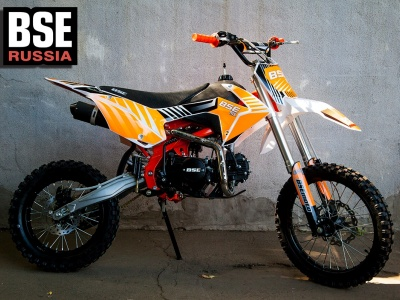 Питбайк BSE MX-125 Оранжевый неон (2019) фото 1