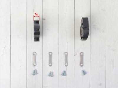 Слайдеры подножек KAYO фото 9