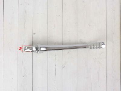 Кикстартер (лапка)  16мм каленая откидная серебрянная фото 5