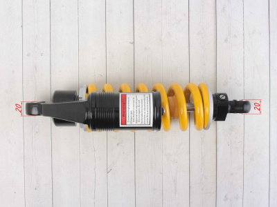 Амортизатор задний газомасляный с выносным резервуаром 290mm, (d-10, m-10)  фото 5