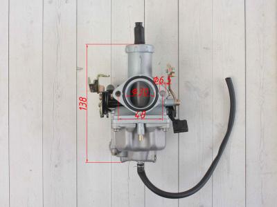 Карбюратор PZ30 (с ускорительным насосом) CB250/TTR250 250см3 фото 3
