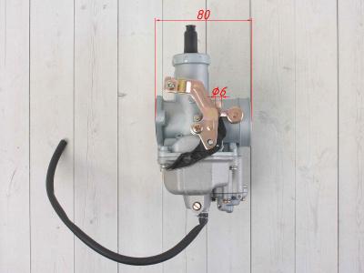 Карбюратор PZ30 (с ускорительным насосом) CB250/TTR250 250см3 фото 5