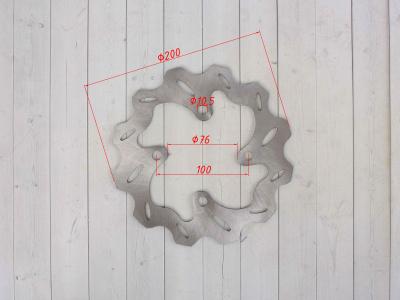 Тормозной диск фигурный задний KAYO CRF d-200mm (2014) фото 3