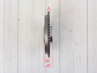Шестерня ведомая электростартера GR7 двиг. MT-250 2T OEM фото 7