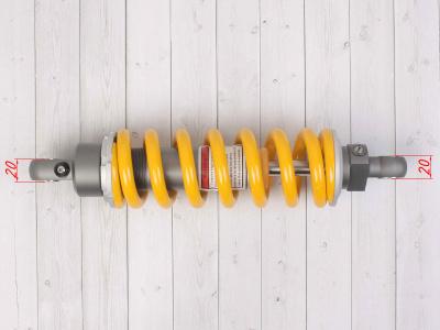 Амортизатор задний газомасляный (3 регулировки) 300mm, (d-10, m-10) фото 5