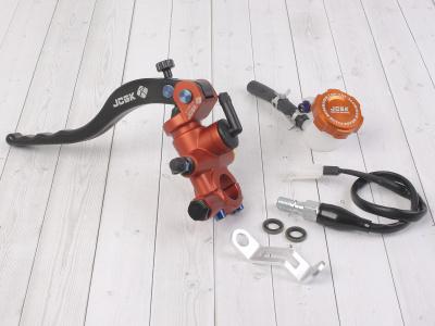 Машинка тормозная JCGK левая оранжевая 18мм фото 1
