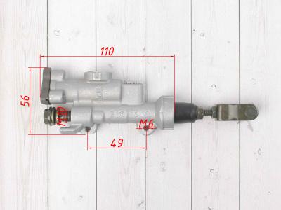 """Тормозной цилиндр T4/T6/K6 (машинка) задний 10"""" фото 3"""