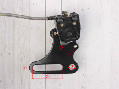 Тормозная система задняя HK160 PH фото 9