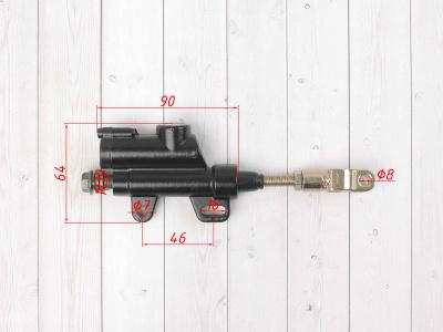 """Тормозной цилиндр (машинка) задний черный 10"""" 40 45 50 мм фото 3"""