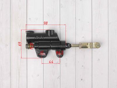 """Тормозной цилиндр (машинка) задний черный 10"""" type2 фото 3"""