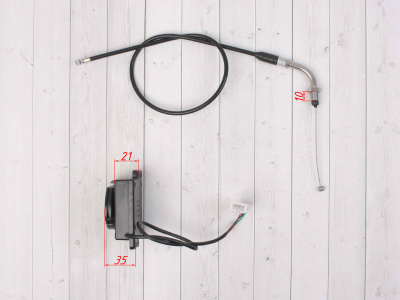 Адаптер для ручки газа с тросиком комплект  фото 5