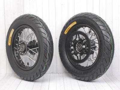 Комплект дорожных/минимотард колес BUTCH 10-10 в сборе  фото 1