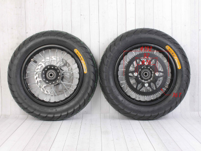 Комплект дорожных/минимотард колес BUTCH 10-10 в сборе  фото 5
