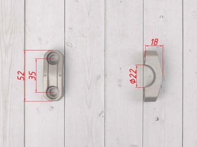Зажимы руля (2шт / комплект) фото 3