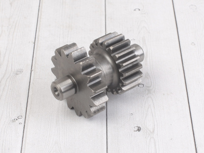 Шестерня промежуточная электростартера KAYO двиг. YX CB250 (воздушный)  CN фото 3