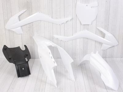 Комплект пластика для питбайка ZUUM P, PM (KTM 65)  белый фото 1