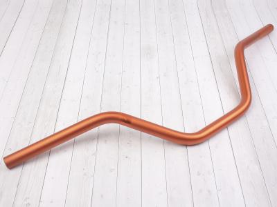 Руль для питбайка алюминиевый 7/8 (22,2 мм) 740 x 180 мм CN оранжевый фото 1