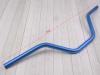 Руль для питбайка алюминиевый 7/8 (22,2 мм) 740 x 180 мм CN синий превью 3